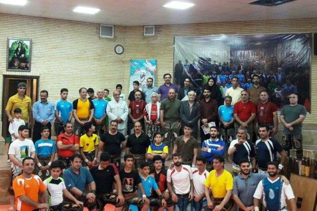 700 لرستانی در ورزش زورخانه ای فعالیت می کنند
