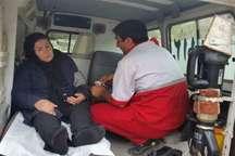 نجات 2 کوهنورد از مرگ حتمی توسط امدادگران هلال احمر پلدختر