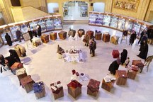 200 پته نفیس کرمان به نمایش گذاشته شد