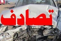 برخورد 10دستگاه خودرو در یزد 2 کشته برجا گذاشت