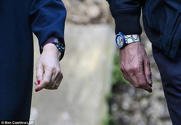 عکس/ ساعت نخست وزیر و شوهرش خبرساز شد