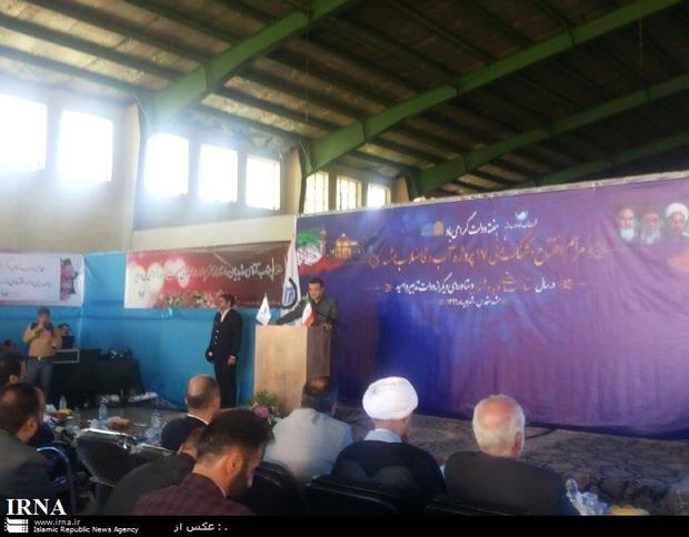 بهره برداری از 40 تصفیه خانه فاضلاب و 25 سد بزرگ در دولت یازدهم