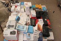 محموله تلفن همراه قاچاق در شلمچه کشف و ضبط شد