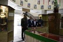 بازدید استاندار البرز از ستاد قرارگاه سپاه در استان