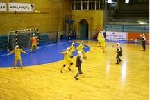 مسابقات شوت هندبال در شهرستان البرز برگزار شد