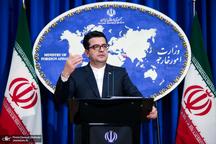 واکنش سخنگوی وزارت خارجه به حادثه امروز برای نفتکشهای تجاری