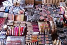 6 هزار قلم انواع لوازم آرایشی قاچاق در بناب کشف شد