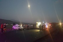 واژگونی خودرو در جاده گلپایگان - خمین سه کشته برجا گذاشت