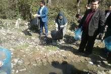پاکسازی طبیعت اسالم تالش با حضور معاون سازمان محیط زیست
