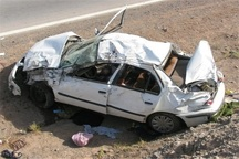 واژگونی خودرو در آزادراه کاشان- قم یک کشته داشت