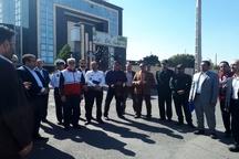 مدیران پدافند غیرعامل ادارات استان البرز از شهرکصنعتی اشتهارد بازدید کردند