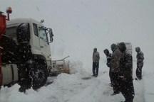 تردد کامیون در 2 محور ارتباطی استان کردستان ممنوع شد