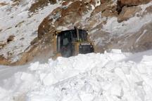 بارش برف 25 سانتیمتری در ارتفاعات شهرستان کوثر  بازگشایی محورهای مواصلاتی شهرستان