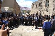 عملیات گازرسانی به 6 روستای میانه آغاز شد