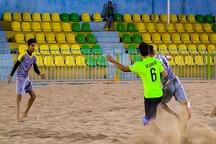 تیم فوتبال ساحلی گلساپوش یزد بر پارس جنوبی بوشهر غلبه کرد