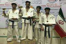 مسابقات قهرمانی ایچی گکی کیوکوشین کاراته کانچو ماتسویی کشور در رامسر برگزار شد
