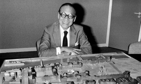 درگذشت معمار هرم موزه لوور