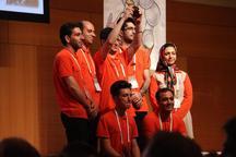 تیم رباتیک دانشگاه آزاد اسلامی واحد ایلخچی بر سکوی سوم جهان ایستاد