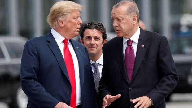 جنگ اقتصادی ترکیه و آمریکا تشدید شد