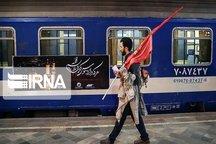 ۵۰ رام قطار ویژه اربعین به مسیر سمنان اختصاص یافت
