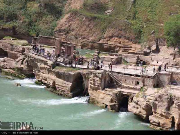 ورود گردشگر به آبشارها و قلعه سلاسل  شوشتر ممنوع شد