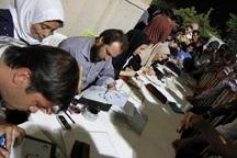 هنرمندان شیرازی در شب قدر آیات قرآن را خوشنویسی کردند