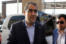وزیر بهداشت، درمان و آموزش پزشکی وارد شهرستان مرزی بانه شد