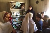 کتابخانه روستایی «کوران» در مهاباد افتتاح شد