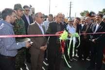 پروژه تعریض و احداث لاین دوم پل قشلاق سنندج به بهره برداری رسید