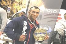 کسب مدال برنز ورزشکار همدانی در رقابت های پرورش اندام مسترالمپیای ایتالیا