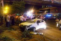 حادثه رانندگی در اتوبان پاسداران تبریز یک کشته برجای گذاشت
