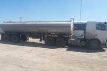 تانکر حامل 2 هزارو500 لیتر سوخت قاچاق در آبادان توقیف شد