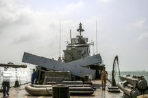 تصاویری از کشتی های جنگی و تجاری در تنگه هرمز