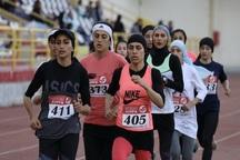تیم دو و میدانی بانوان فارس بر سکوی سوم کشور ایستاد