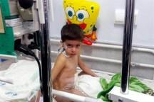 کودک شوقانی تسلیم جراحت های مرگ بار سگ درنده شد