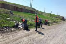 پسماندها و زباله ورودی شهرهای استان زنجان پاکسازی می شود
