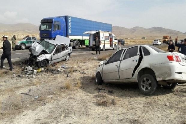 تلفات حوادث رانندگی در استان اردبیل 54 درصد افزایش یافت