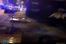 برخورد یک خودرو با عابران در لندن+ تصاویر