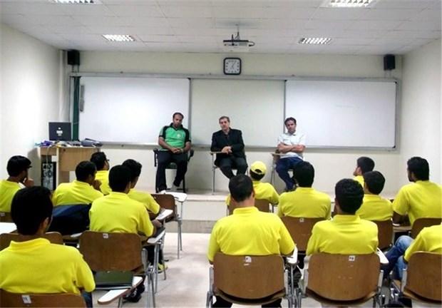 کلاس سطح بی مربیگری در بوشهر برگزار شد
