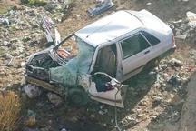 سقوط پراید به دره در قزوین یک کشته به همراه داشت