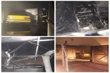 آتش سوزی یک خودرو در پارکینگی در شهرک اندیشه تبریز