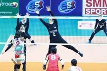 حضور والیبالیست بانوی ارومیهای همراه تیمملی در مسابقات آسیایی