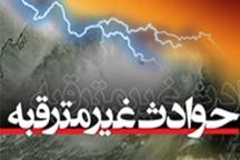 توفان در تایباد یک میلیارد ریال خسارت برجای گذاشت