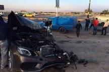 حادثه رانندگی در شهرضا  پنج مصدوم برجا گذاشت