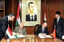 چین و سوریه توافقنامه 16 میلیون دلاری امضاء کردند