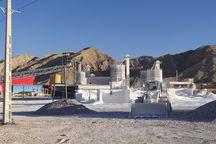 بزرگترین پروژه کربنات کلسیم کشور در دشتی ۹۰ درصد پیشرفت دارد