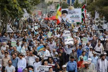 شرکت در راهپیمایی روز قدس مصداق جهاد است