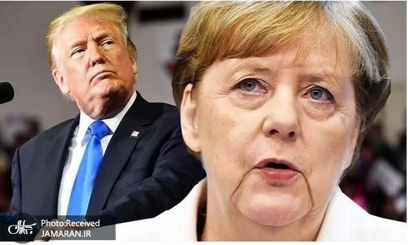 حمله بی سابقه صدراعظم آلمان به ترامپ+ عکس
