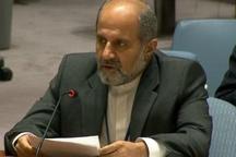 سفیر ایران در سازمان ملل: ایران بر سر امنیت و توانمندی دفاعی خود مصالحه نمیکند/ آمریکا شورای امنیت را به گروگان گرفته است