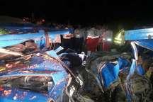 تصادف در یک محور فرعی اسفراین 2 قربانی گرفت